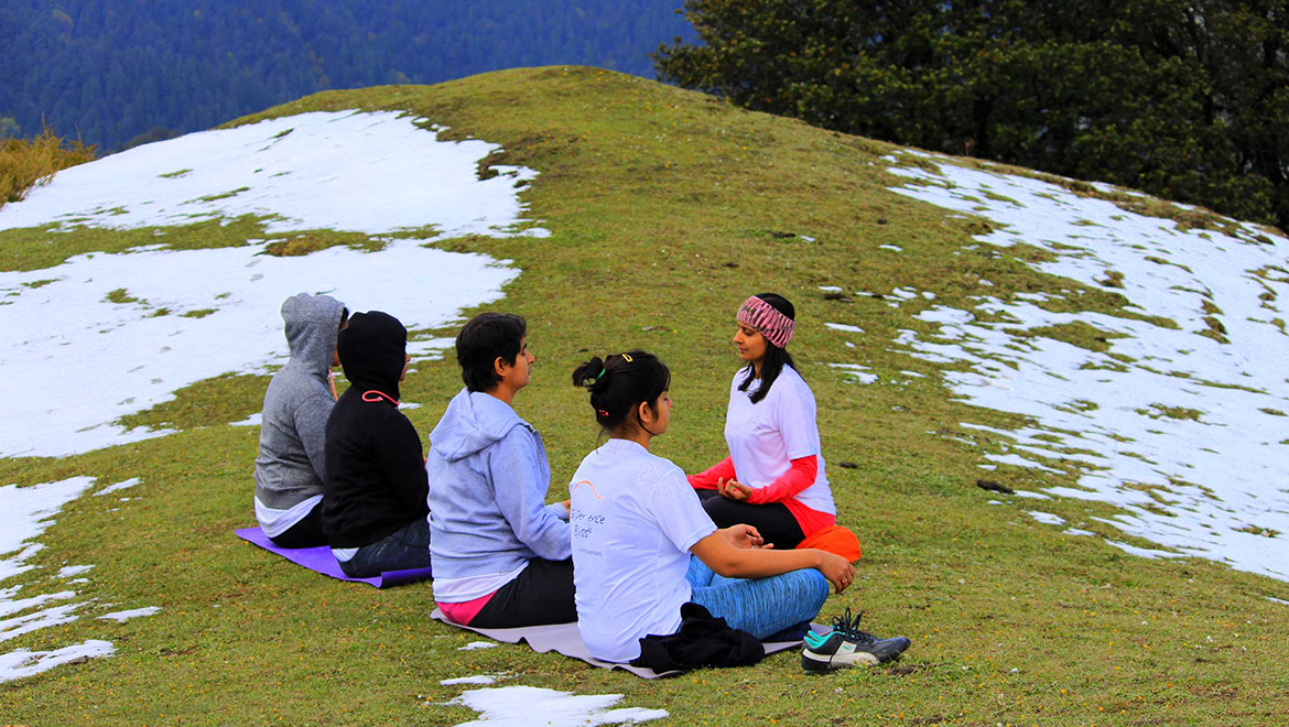 An expedition for peace! Yoga Travel (Retreat) to Jibhi