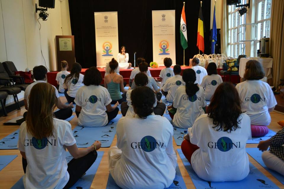 Mindfullness session