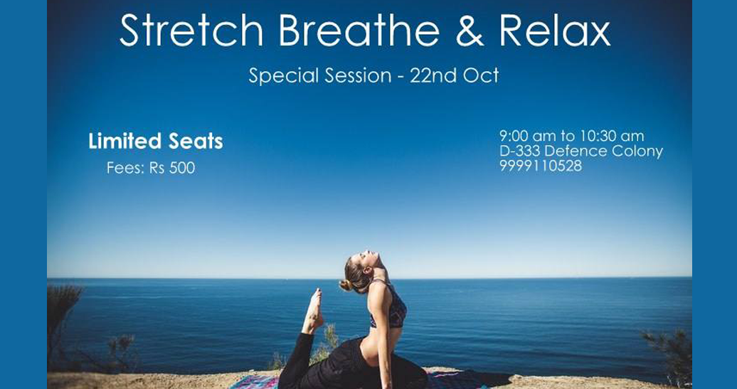 Stretch Breathe and Relax