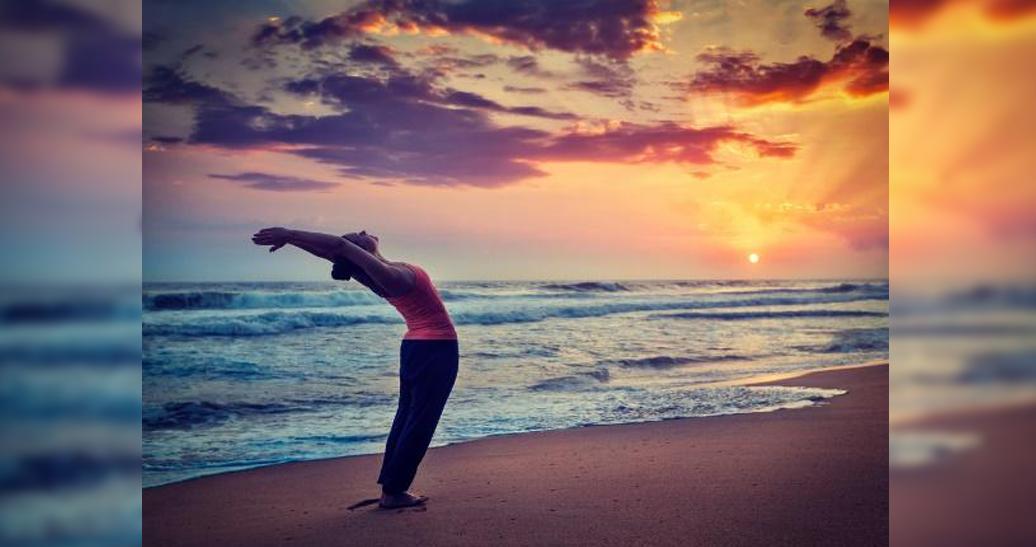Meditative Sun Salutations followed by Deep Relaxation