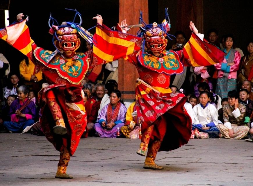 Folk Dances of Bhutan