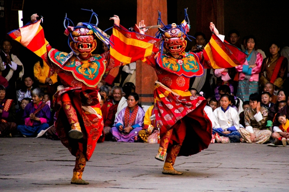 Folk Dances of Bhutan