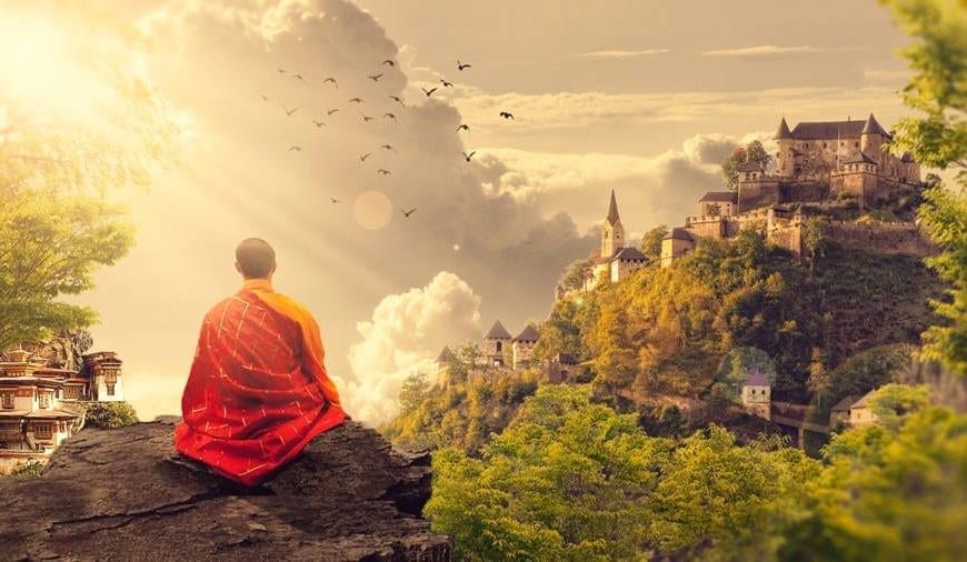 Chanting followed by meditation
