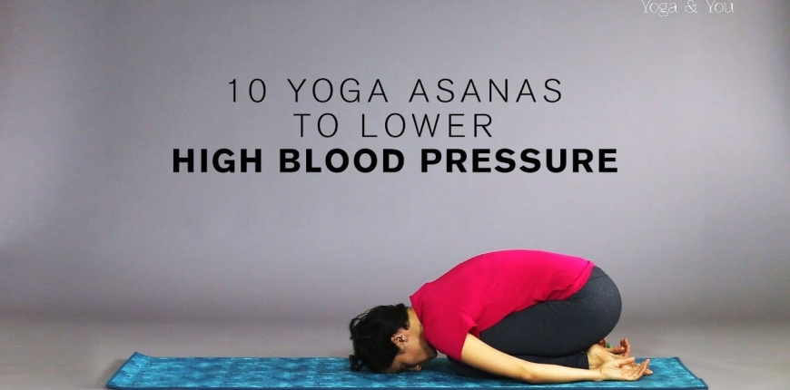 10 Yoga poses for managing Hypertension