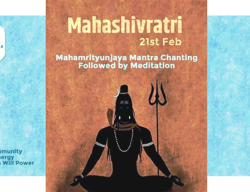 Mahashivratri Event – Mantra Chanting & Meditation