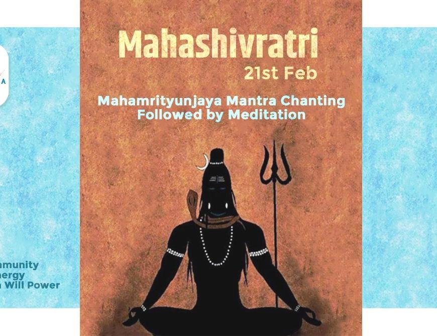 Mahashivratri Event – Mantra Chanting & Meditation
