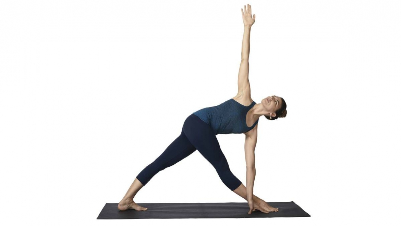 Parivrtta Trikonasana – Revolved Triangle Pose