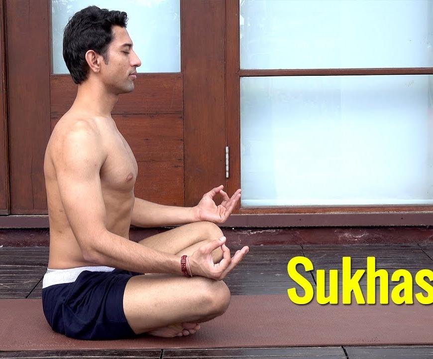 Sukhasana – Easy Pose
