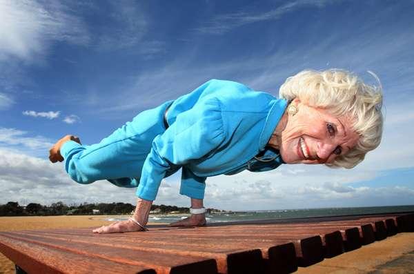 Meet The Oldest Yoga Teacher in the World