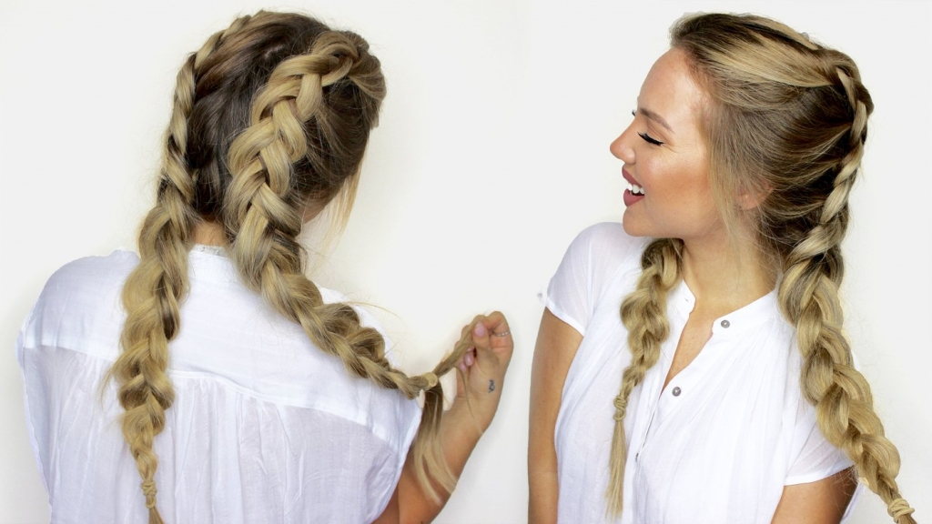 Double Braids- Your Top 5 Hairstyles for A Seamless Yoga Session
