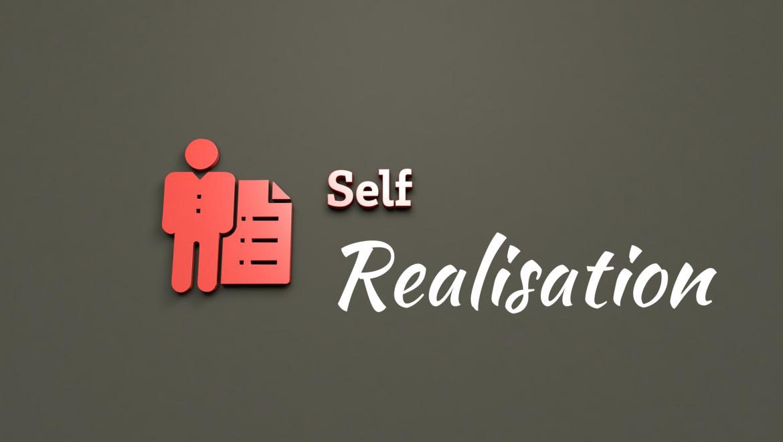 Self Realisation: Goal of Meditation for Mindfulness