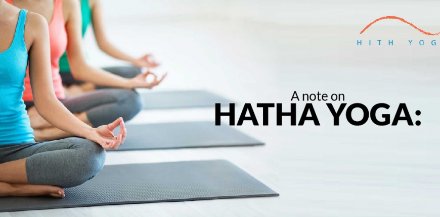 A Note on Hatha Yoga